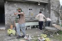 دانشجویان جهادگر استان مازندران مناطق محروم جنوب کشور را بازسازی کردند