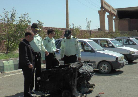باند حرفه ای سارقان خودرو در عجب شیر متلاشی شد