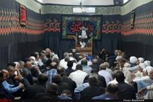 برگزاری مراسمهای عزاداری حسینی در بندر هندیجان + تصویر