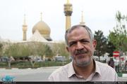 بازدید احمد مسجد جامعی از نمایشگاه «عطر یاس» در حرم مطهر امام خمینی(س)-2