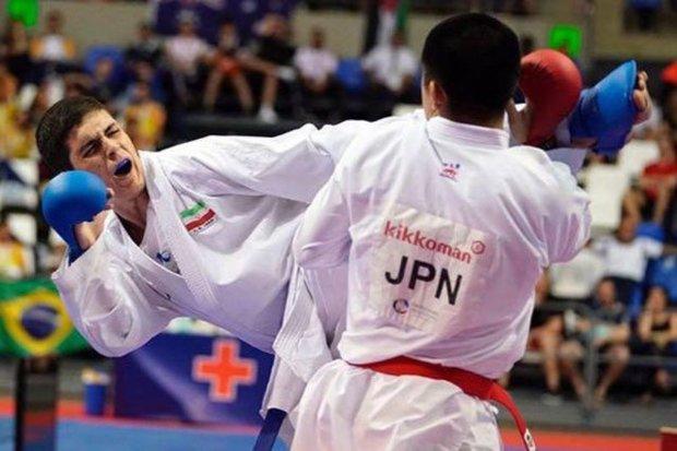 2 کاراته کا کرمانشاهی برای طلا و برنز لیگ جهانی می جنگند