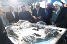 نمایشگاه دستاوردهای صنعت هسته ای کشور در کاشان گشایش یافت