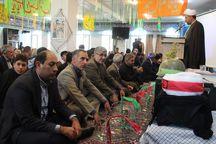 خلخال بیشترین شهید روحانی را  در استان اردبیل دارد