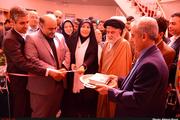 ساختمان جدید کتابخانه آیت الله امامی کاشانی اقبالیه افتتاح شد