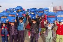 آستان قدس800 بسته تحصیلی در مدارس شیروان توزیع کرد