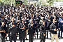 گزارش تصویری مراسم عزاداری تاسوعای حسینی در سیستان و بلوچستان