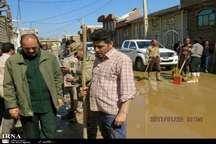 فرمانده سپاه شهدا: تسریع در بازسازی منازل سیل زده محمدیار ضروری است