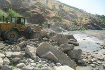 ۳ هکتار از تصرفات بستر رودخانه جاجرود آزاد سازی شد
