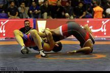 قهرمانی تیم کشتی فرنگی تهران در مسابقات کشتی بزرگسالان