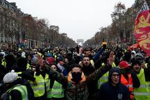 اعتراض های جلیقه زردها در فرانسه وارد هفتمین هفته خود شد