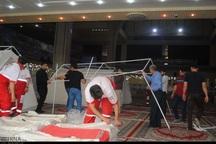 40 هزار سیل زده در اردوگاه های خوزستان اسکان داده شدند