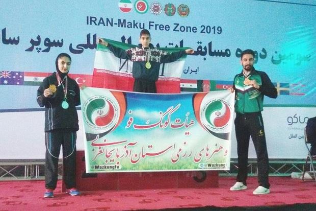 کونگ فوکاران آذربایجان غربی 4 مدال بین المللی کسب کردند