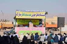 امام جمعه بشرویه: حضور پرشور مردم در روز قدس پشت دشمنان را به خاک مالید