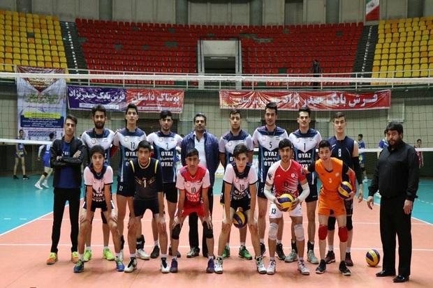 تیم والیبال جوانان شهرداری ارومیه مقابل همنام تبریزی پیروز شد