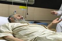 آیت الله سید محمد موسوی بجنوردی در بیمارستان بستری شد