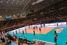 پیروزی با اقتدار والیبال تیم ایران در مقابل پاکستان