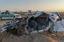 تصادف در آزاد راه اندیمشک - پل زال یک کشته بر جا گذاشت