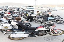 تیم موتورسواران فرانسوی از مرز بازرگان وارد کشور شدند