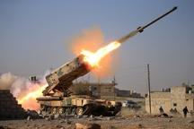 مواضع داعش در غرب موصل آماج حملات نیروهای عراقی+ تصاویر