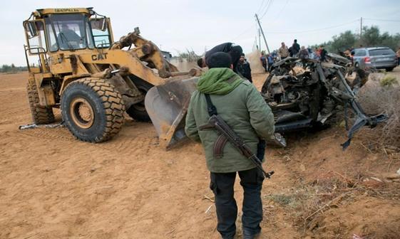 آثار به جای مانده از نبرد سخت مبارزان فلسطینی با نیروهای اسرائیلی در غزه+تصاویر