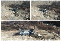 واژگونی خودرو سمند در بویراحمد چهار مصدوم داشت