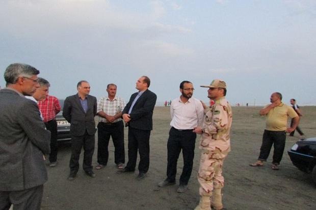 بازرسان وزارت کشور از ساحل آستارا بازدید کردند