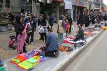 طرح ساماندهی دستفروشان در سنندج به تعویق افتاد
