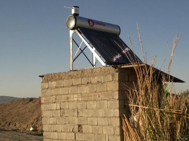 42 دستگاه آبگرمکن خورشیدی در روستاهای  سبزوار توزیع شد