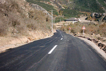 افتتاح راه روستایی داغلان به هادی آباد