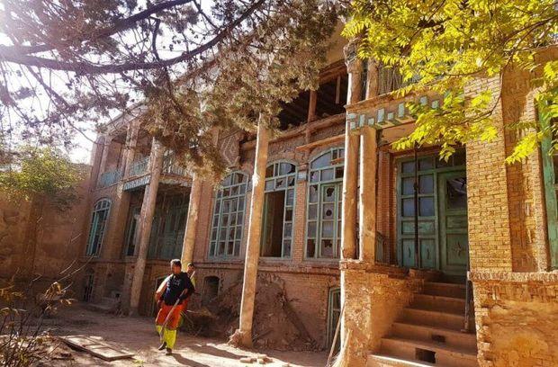 محوطه خانه تاریخی کلکتهچی آواربرداری شد