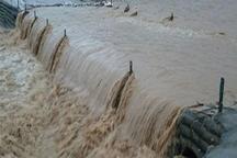 بارش شدید باران پل نارنج بن سوادکوه شمالی را تخریب کرد