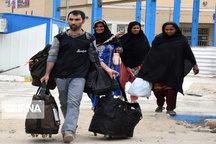 ۳۶۳ زائر پاکستانی در میرجاوه اسکان داده شدند