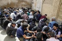 حدود 22 هزار معتاد در البرز جمع آوری شد