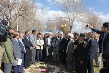 عملیات طرح توسعه بیمارستان شهید رجایی فریدن آغاز شد