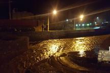 سیلاب راه دسترسی به روستای تاش شاهرود را بست