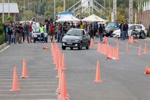 مسابقات رالی اسلالوم در قزوین به کار خود پایان داد