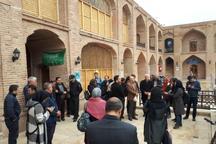 خبرنگاران پایتخت از بناهای تاریخی قزوین دیدن کردند