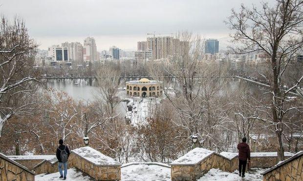 هوای آذربایجان شرقی برفی شد