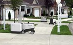 این رباتها بدون نیاز به کمک انسان، بار را به مقصد میرسانند