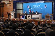 با حضور رئیس جمهور؛ 61 پروژه زیربنایی و اقتصادی در استان گلستان افتتاح و یا عملیات اجرایی آنها آغاز شد