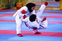 راهیابی 2 بانوی کاراته کار گیلانی به مرحله دوم رقابت های انتخابی تیم ملی