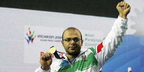 رکورد وزنهبرداری پاراآسیا شکسته شد و صلحی پور به مدال طلا رسید