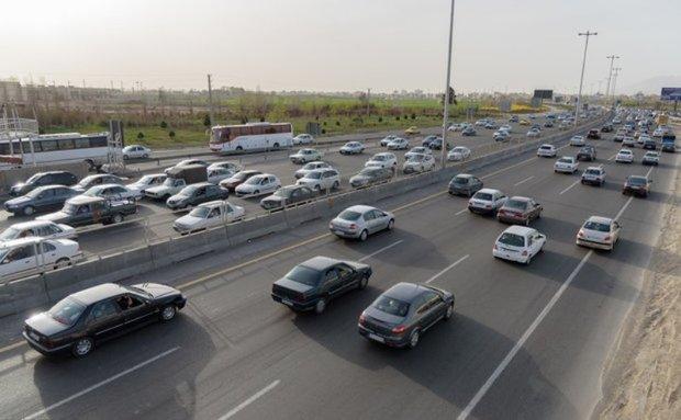 423 هزار تردد وسایل نقلیه در جاده های لرستان ثبت شد
