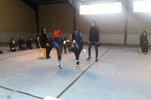 برگزاری مسابقات کونگ فو بانوان در لرستان