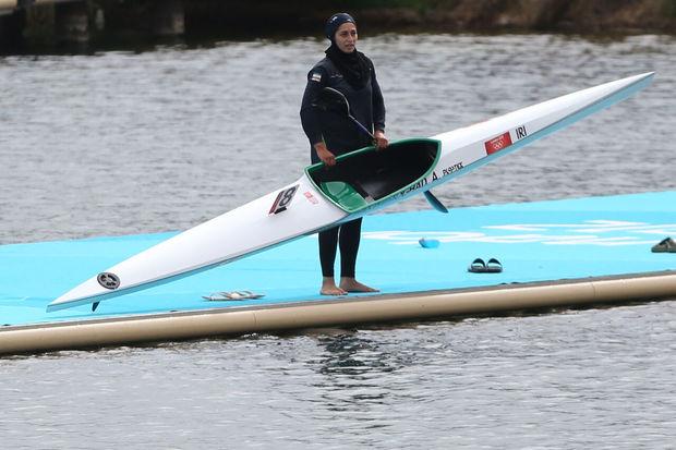 قایقران همدانی قدم در راه مسابقات جهانی نهاد
