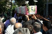 پیکر مطهر یک شهید در شاهرود تشییع شد