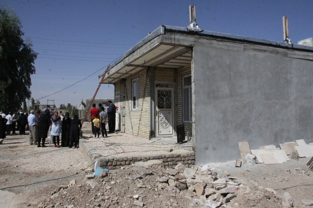 ساخت بیش از یک هزار واحد مسکونی زلزله زدگان پایان یافت