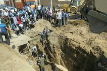 مرگ کارگر در پی گودبرداری کانال فاضلاب در کاشان