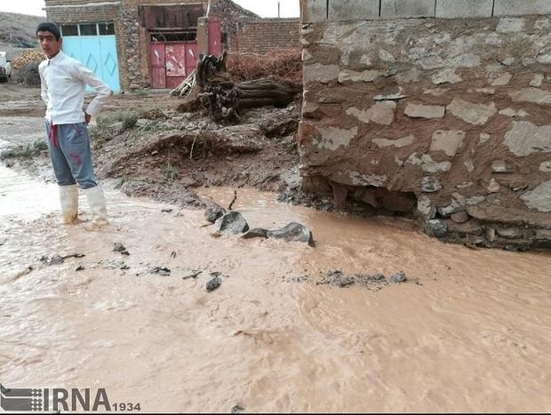 189 واحد مسکونی کرمانشاه براثر سیل تخریب شدند