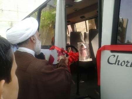 نخستین کتابخانه سیار شهری خراسان شمالی در شیروان افتتاح شد